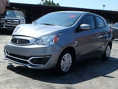 2017 Mitsubishi Mirage ES 2017 Mitsubishi Mirage ES Wrecked Rebuilder Clean Title Only 3K Mi Gas Saver!