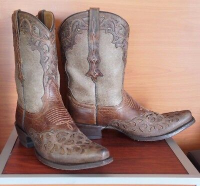 Ariat Women's Cowboy Western COWGIRL  Boot Size 8 B Brown  X- Toe