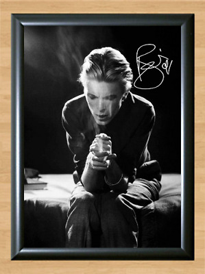 David Bowie Smoke Stardust Signed Autographed A4 Photo Poster Memorabilia cd