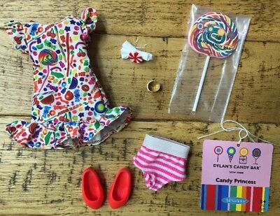 """Madame Alexander 9"""" Doll Clothes~Dylan's Candy Bar CANDY PRINCESS Outfit~#66940"""