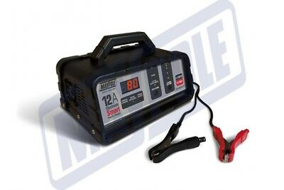 Maypole Mp74212 12A 12V Electronic Bench Smart Charger *New For 2017* In Stock