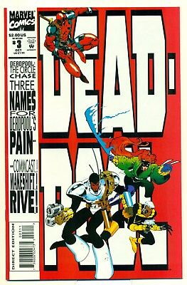 Deadpool the Circle Chase # 3 VF/NM Niceza & Madureira