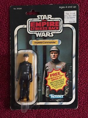 Star Wars The Empire Strikes Back Imperial Commander action figure - 99 cents!