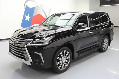 2017 Lexus LX Base Sport Utility 4-Door 2017 LEXUS LX570 AWD LUX SUNROOF NAV HUD DVD 21'S 5K MI #222984 Texas Direct