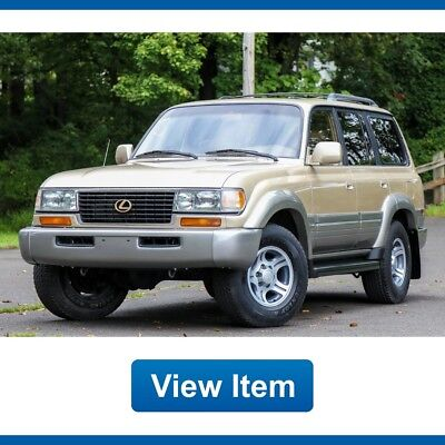 1996 Lexus LX Base Sport Utility 4-Door 1996 Lexus LX 450 Lx450 3rd ROW Serviced 4WD Low 132K Mi FJ80 Land Cruiser