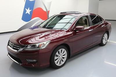 2013 Honda Accord EX-L Sedan 4-Door 2013 HONDA ACCORD EX-L SEDAN HTD LEATHER SUNROOF 39K MI #000411 Texas Direct