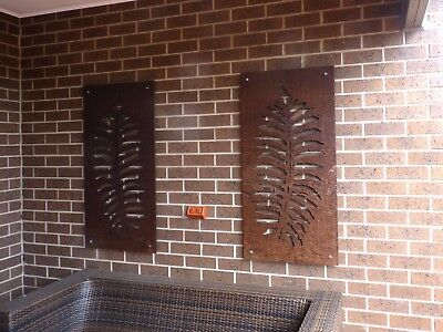 Fern Leaf 1200mm x 600mm Decorative Screens - Garden Screen - WOODSMAN