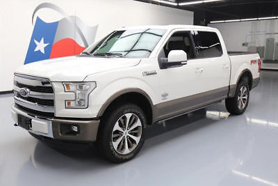 2015 Ford F-150  2015 FORD F150 KING RANCH ECOBOOST FX4 4X4 PANO NAV 28K #C92449 Texas Direct