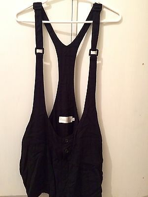 Shakuhachi Cullotes Shorts Overalls Suspenders Vintage Grunge