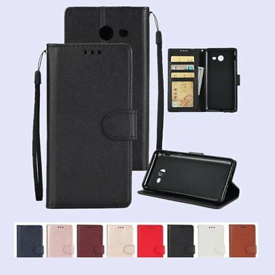 Luxury Shockproof Stand Flip Leather Wallet Case Cover For Samsung Galaxy J/A