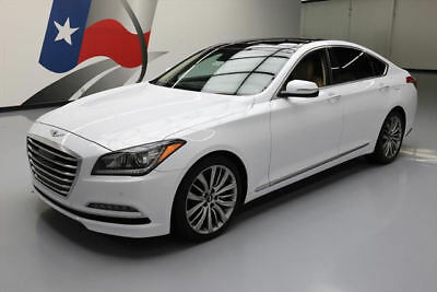 2015 Hyundai Genesis 5.0 Sedan 4-Door 2015 HYUNDAI GENESIS 5.0 TECH PANO ROOF NAV 19'S 24K MI #044662 Texas Direct
