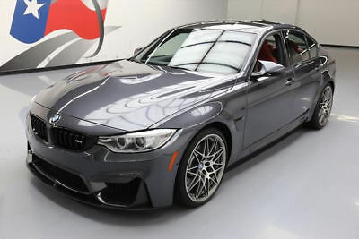2017 BMW M3 Base Sedan 4-Door 2017 BMW M3 COMPETITION M DCT RED LEATHER NAV 20'S 8K #G83856 Texas Direct Auto