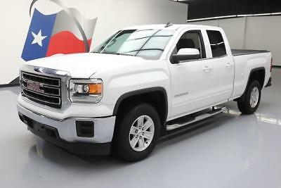 2015 GMC Sierra 1500 SLE Extended Cab Pickup 4-Door 2015 GMC SIERRA SLE DBL CAB 6-PASS REAR CAM TOW 32K MI #341032 Texas Direct Auto