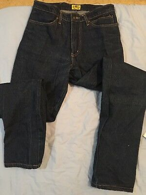 Draggin Blue Denim Motorcycle Jeans Size 32