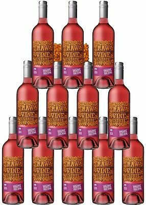 12 X Raw Organic Preservative Free Rose 2016