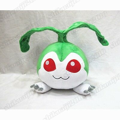 "12"" Anime Digimon Digital Monster Tanemon Plush Toy Stuffed Doll Gift 30cm"