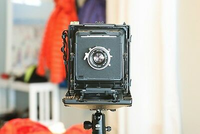 Toyo 45CF Large Format Field Film Camera with Lens, Holders and Extra