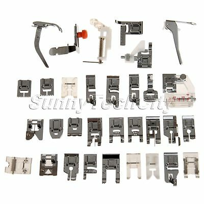 32pcs Presser Foot Feet Domestic Sewing Machine Presser Feet Sewing Machine Part