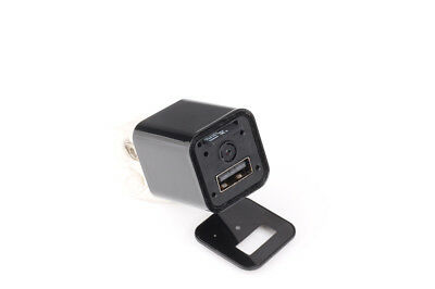 1920X1080p Nohole USB Charger Power Spy Hidden Camera Home Security Device Mini