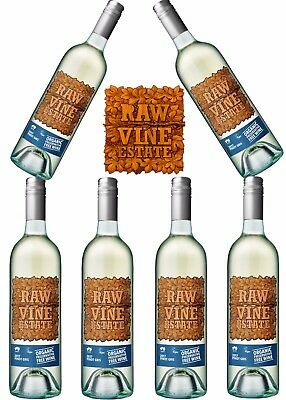 Raw Organic Preservative Free Pinot Gris 2017 (Case Of 6)