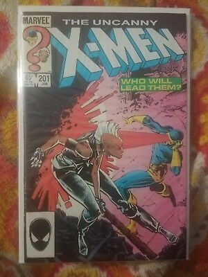 The Uncanny X-Men #201 - 1st appearance of Baby Cable (NM-)