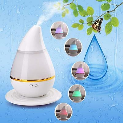 7Colors LED Ultrasonic Aroma Humidifier Air Aromatherapy Essential Oil Diffuser