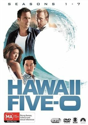 Hawaii Five - O (2010): Seasons 1, 2, 3, 4, 5, 6 & 7 DVD BOX SET R4 New & Sealed