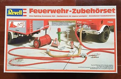 Revell 1/24 Fire-Fighting Accessory Set - NIB