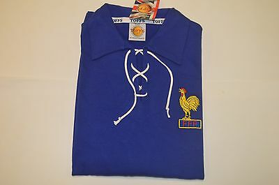 Toffs France 1950's Retro Football Shirt / Various Sizes