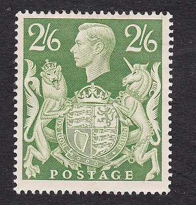 Great Britain 1939  2/6d green  mint hinged