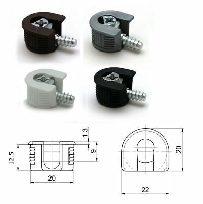 Knock Down Cam Lock - Flat Pack Furniture Fitting, Dowel Assembly - Packs
