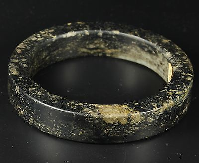 Antique Jade Bangle Armreif Bracelet Antik