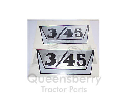 Nuffield 3/45 345 side decal stickers pair