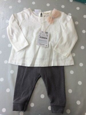 Zara Baby Girl Outfit 3-6 Months