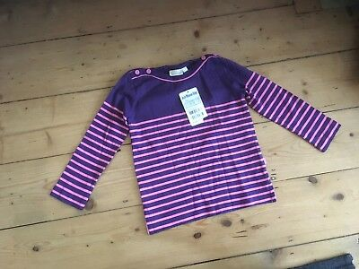 BNWT Jojo Maman Bebe long sleeve top aged 3-4 years