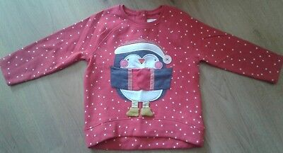 girls next christams jumper 18-24 months