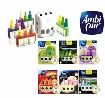 Ambi Pur 3Volution 90 Days Air Freshener Refill Plug In Brand New **choose Type*