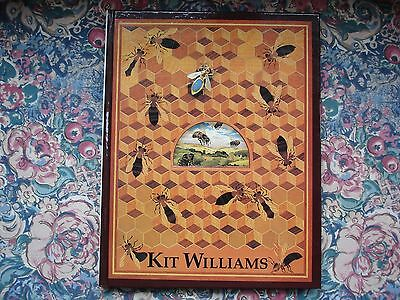 """""""THE BEE BOOK"""" by Kit Williams 1ST Edition 1984 Excellent Condition Like New"""