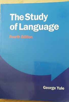 The Study of Language by George Yule (Paperback, 2010)