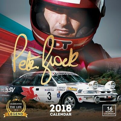Peter Brock 2018 Wall Calendar by Browntrout NEW Postage Included
