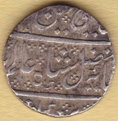 French India Silver 1 Rupee Arcot Mint #p22