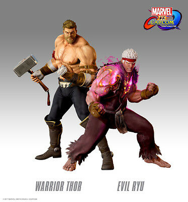 PLAYSTATION 4 Marvel Vs Capcom Infinite - Evil Ryu & Warrior Thor DLC (PS4)