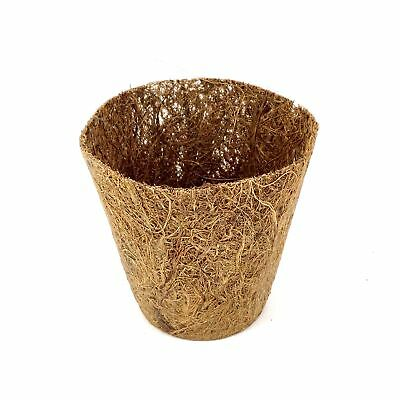 Nutley's 8cm Coco Fibre Coir & Latex Biodegradable Reusable Flexible Plant Pots