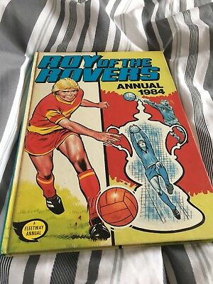 Vintage Roy Of The Rovers Hardback Annual 1984