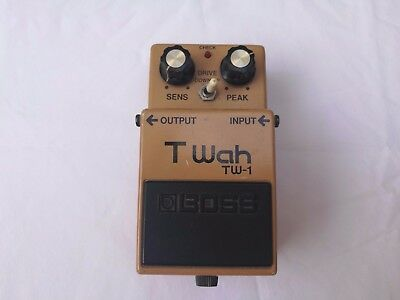 Vintage Boss Tw-1 T-Wah Mij Japan Black Label - Free Next Day Delivery In The Uk