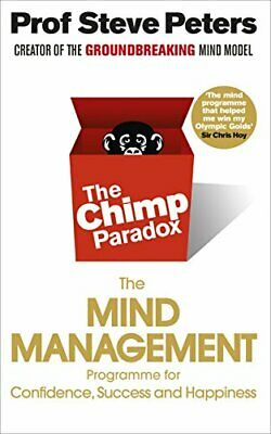 Chimp Paradox by Prof Steve Peters New Paperback Book