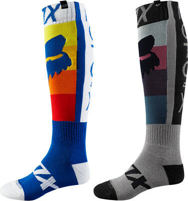 Fox Racing Mens Coolmax Thin Draftr Technical Riding Socks Pair
