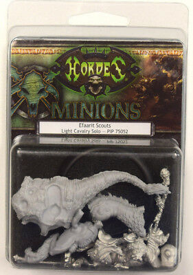 NEW Hordes Minions Efaarit Scouts Light Cavalry Solo PIP 75052