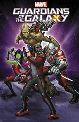 Marvel Universe Guardians Of The Galaxy by Joe Caramagna New Paperback Book