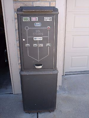 Original Commercial Controls Corporation Stamp Vending Machine 1940s Very Good